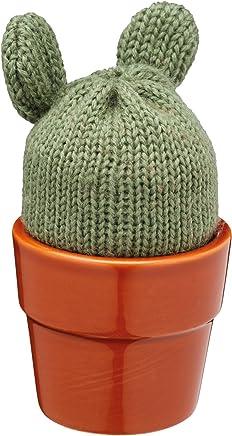 KitchenCraft kceggcacti Eierbecher, grün/braun - preisvergleich