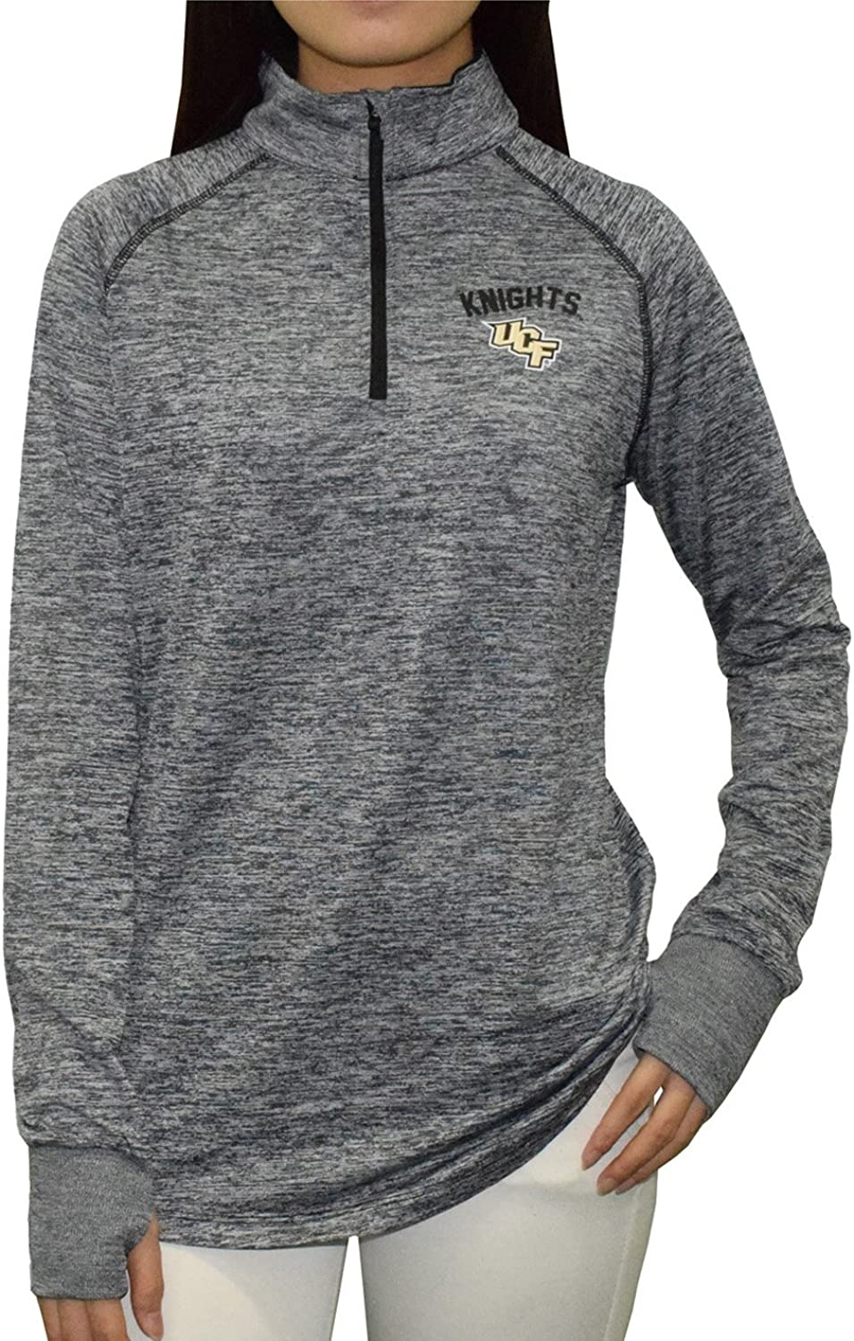 Central Florida Knights NCAA Womens Athletic 1 4 Zip Thermal Shirt