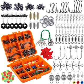 PLUSINNO Fishing Accessories Kit, 10/212/263Pcs Fishing...