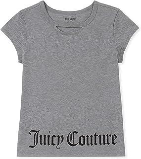 Juicy Couture - Playera de Manga Corta para niña