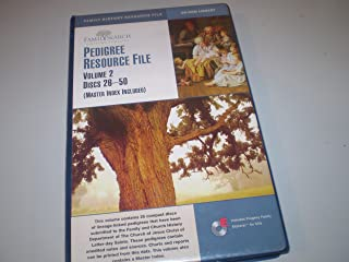 Pedigree Resource File ((Master Index Included), Volume 2 / Discs 26-50)