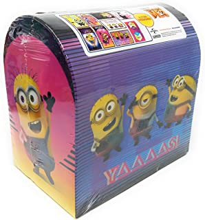 Despicable Me 3 Minions Valentine Cards for Kids with Seals and Mailbox - Pkg. of 24 (38365)