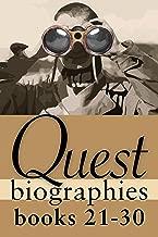 Quest Biographies Bundle — Books 21–30: Louis Riel / James Wilson Morrice / Vilhjalmur Stefansson / Robertson Davies / James Douglas / William C. Van Horne ... Girty / Mary Pickford (Quest Biography)