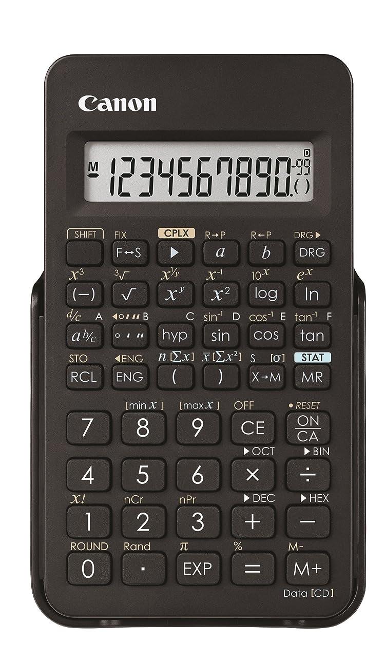 冗談で大邸宅むしろCanon 関数電卓 F-605G 1行表示モデル