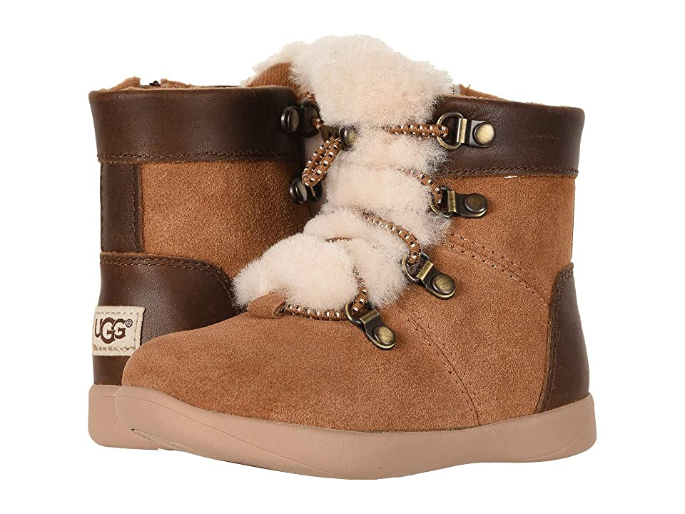 UGG Kids Ager (Toddler/Little Kid) (Chestnut) Boys Shoes