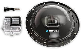 Dome Gopole H6/H5 Over/Under Dome Port Câmeras GoPro Hero 5 Black e Hero 6 Black