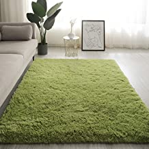 Area Rug Bedroom Carpet Super Soft Silky Smooth Mat and Fur Anti-Skid Fluffy Shaggy Carpets for Living Room Home Decor Car...