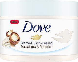 Dove 多芬沐浴磨砂膏含澳洲坚果和米浆成分(4 x 225毫升)