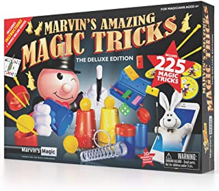Marvin's Magic – 225 Amazing Magic Tricks for Children | Kids Magic Set |..
