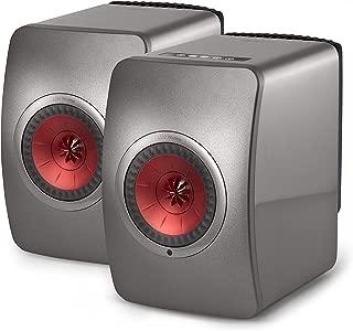LS50 Wireless Powered Music System (Gray, Pair)
