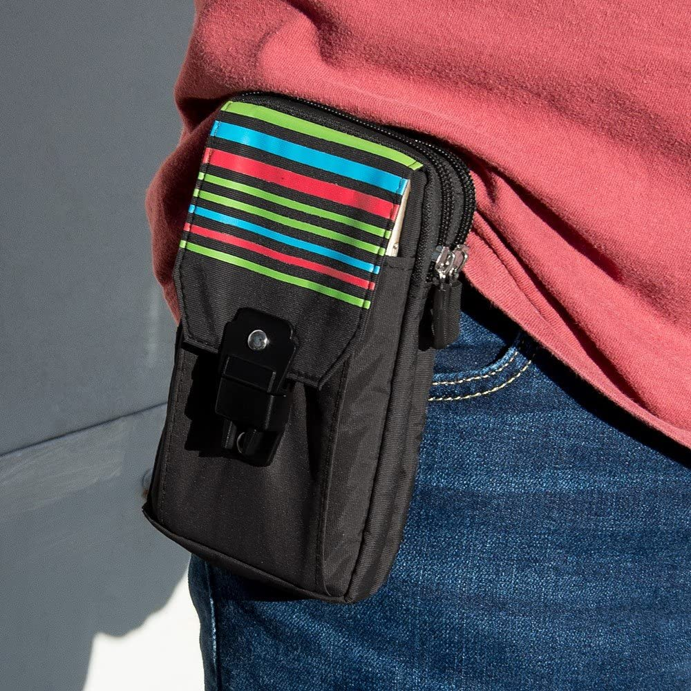 Vertical Outdoor Sport Arm Pouch Cell Phone Holster for Alcatel 1L 2021, 1B 2020, 1V 2020, 1S 2020