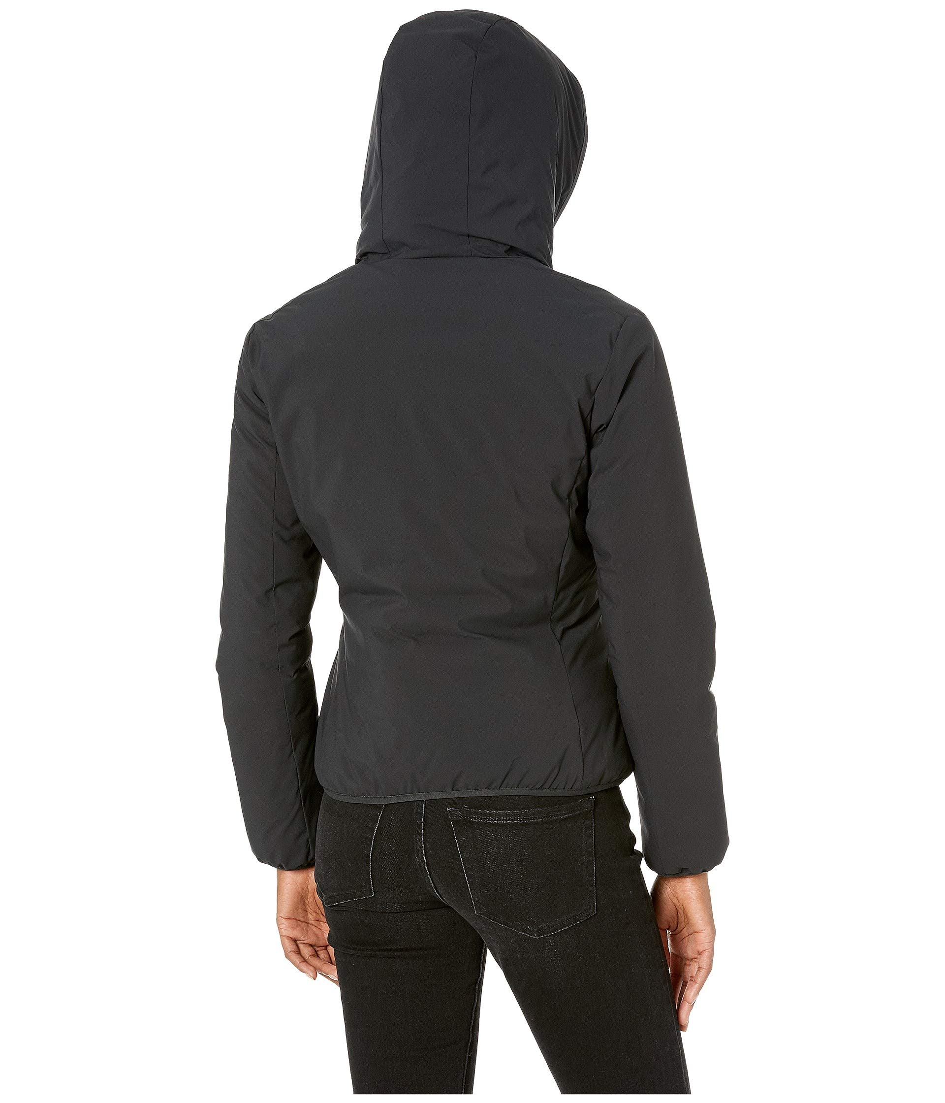 Hooded Duck Black Jacket Short The Reversible Save 7qUtcafxWw