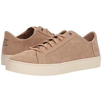 TOMS Lenox (Toffee Perforated Synthetic Suede) Men