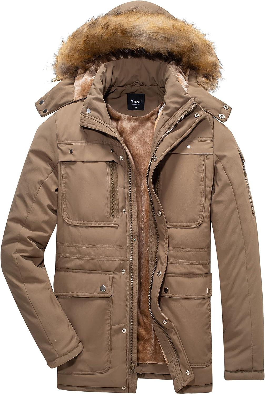 Max 48% OFF Yozai Men's Product Warm Winter Coats Snowboard for Jacket J Mens