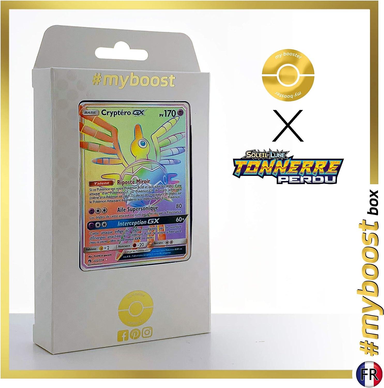 ahorra hasta un 70% Cryptéro-GX (Sigilyph-GX) 222 214 214 214 Arcoíris Secreta -  myboost X Soleil & Lune 8 Tonnerre Perdu - Box de 10 Cochetas Pokémon Francés  mejor vendido
