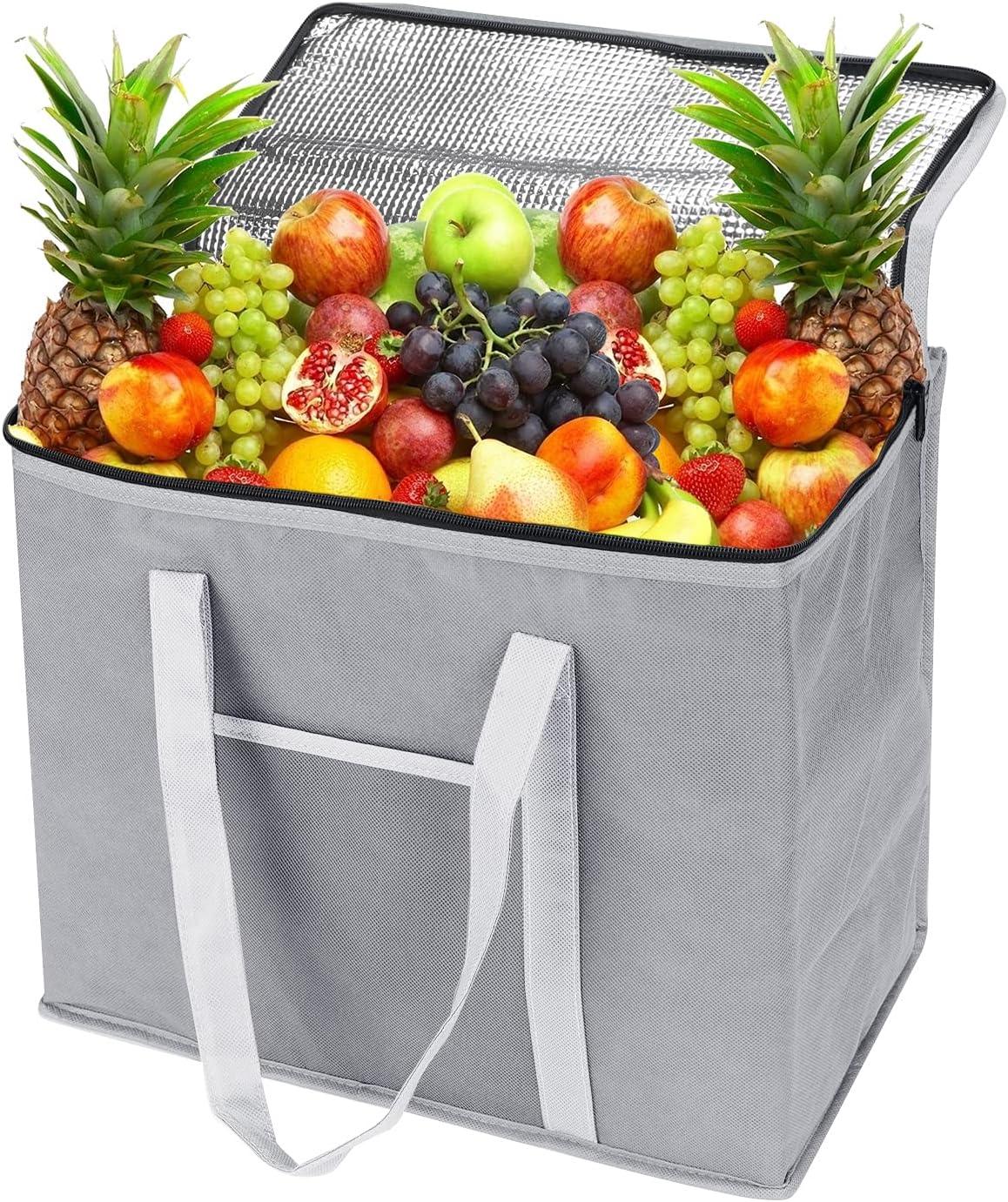 Bolsa termica, bolsa isotermica de 30 litros, bolsa termica porta alimentos, bolsa almuerzo, bolsa nevera para camping, barbacoa, compras, pesca, actividades familiares al aire libre