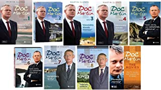 Doc Martin Ultimate Collection Seasons 1-8 + The Movies
