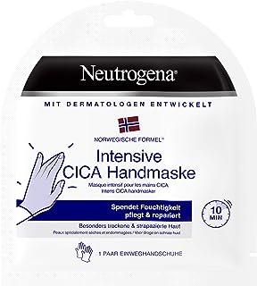 Neutrogena Intensief CICA handmasker, 1 paar wegwerphandschoenen met handcrème, bijzonder droge handen