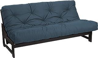 Trupedic - Full Size 6-inch Futon Mattress, Dusty Blue