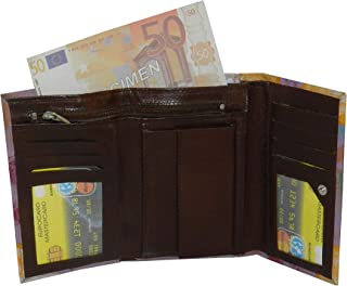 LAVERI Purple Leather For Women - Trifold Wallets
