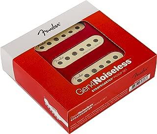 Fender Generation 4 Noiseless Stratocaster Single-Coil Pickups - Set of 3