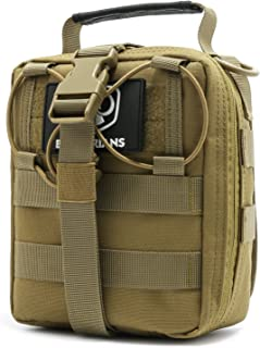 Barbarians Tactical MOLLE Pouch, Rip-Away EMT Medical First Aid Utility IFAK Pouch