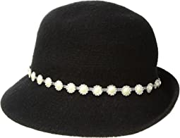 Collection XIIX - Pearl & Ruffle Band Cloche