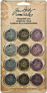 stamped metal tags