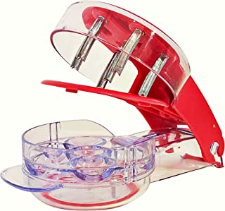 ProTensils Cherry Pitter Tool Corer - Includes Cherry Recipe EBOOK | 6 Cherries at Once