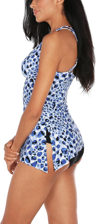 TAHARI Women's Standard Convertible Tankini Swimsuit