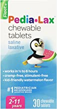 Pedia-Lax Laxative Chewable Tablets for Kids, Ages 2-11, Watermelon Flavor, 30 CT, ( Pack Of 3 ) ( Packagin...
