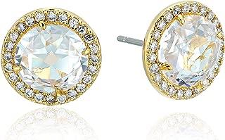 Bright Ideas Pave Halo Stud Earrings