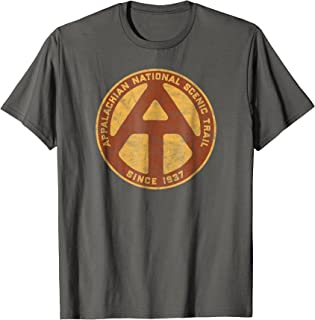 Appalachian Trail Marker Retro Shirt - National Scenic Trail