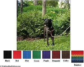 No-Choke No-Pull Front-Leading Dog Harnesses, Original Edition, 25-65 lbs, Rainbow