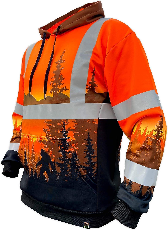 Sale item SafetyShirtz SS360 Wildland Hoodie - Orange Class 3 ANSI PNW Max 60% OFF