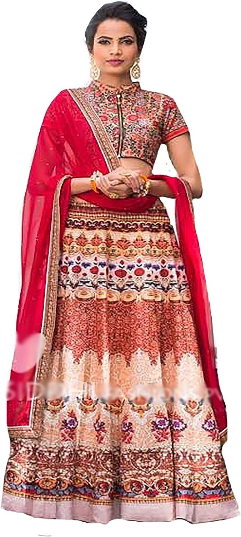 Festival Collection Lehenga Choli Dupatta Ceremony Wedding Bridal Muslim 8853