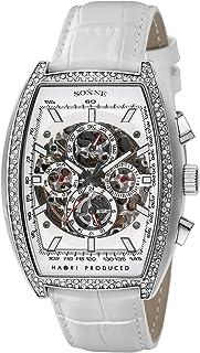 [ゾンネ]SONNE 腕時計 H018 ホワイト文字盤 自動巻き H018SSZ-WH メンズ