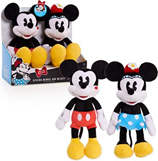Minnie Mouse Classic Mickey & Minnie Kissing Plush