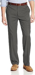 Men's Straight Fit Flat Front Traveler Ultimate Dress Pant