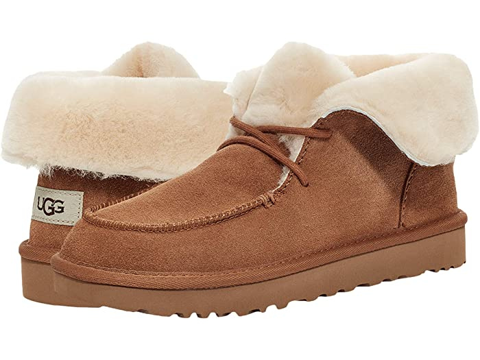 Vintage Boots- Winter Rain and Snow Boots History UGG Diara Chestnut Womens Shoes $119.95 AT vintagedancer.com