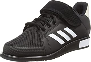 adidas, Power Perfect III Shoes, Men's Shoes, Black/White/Matte Gold, 8 US