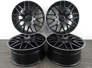 RS5 2 x 20 mm RS4 2 x 25 mm Argent Roue Alliage Entretoises Noir Boulons-audi RS3