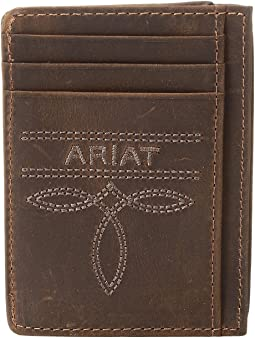 Ariat Fancy Scroll Toe Bug Card Case