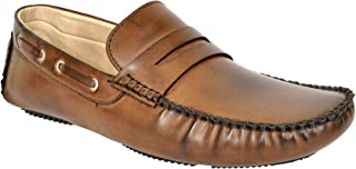 Lee Fox Pure Leather Brown Casual Shoe