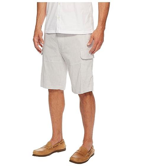 Pantalón rayas cargo natural lino Ellis de a corto Lino Perry Xrq6PX