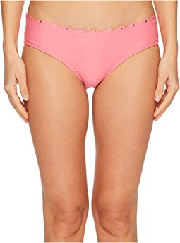 Kate Spade New York Morro Bay #69 Scalloped Hipster Bikini Bottom