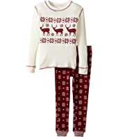 P.J. Salvage Kids - Snow Flake Thermal Jammie Set (Toddler/Little Kids/Big Kids)
