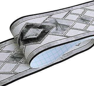 HyFanStr Pelar y pegar el papel pintado fronteras autoadhesivas, 3D removible impermeable pared azulejos para decoración d...