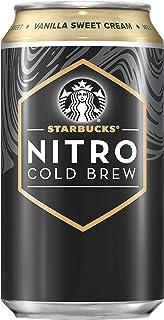 Sponsored Ad - Starbucks Nitro Cold Brew, Vanilla Sweet Cream 9.6 fl oz Can (8 Pack)