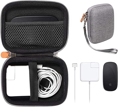 new arrival GETGEAR case for MacBook Magsafe/Magsafe 2 Charger Adapter, Magic Mouse 1, 2, Lightning Hub, Type C and USB Hub, Card Reader, All in one Carrying online Solution lowest (Tweed Gray) online